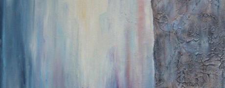 le temps Huile et acrylique sur bois sulijen